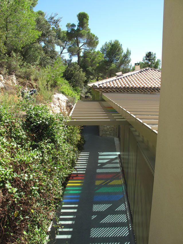 Frankrig byggeprojekt Tourtour regnbue