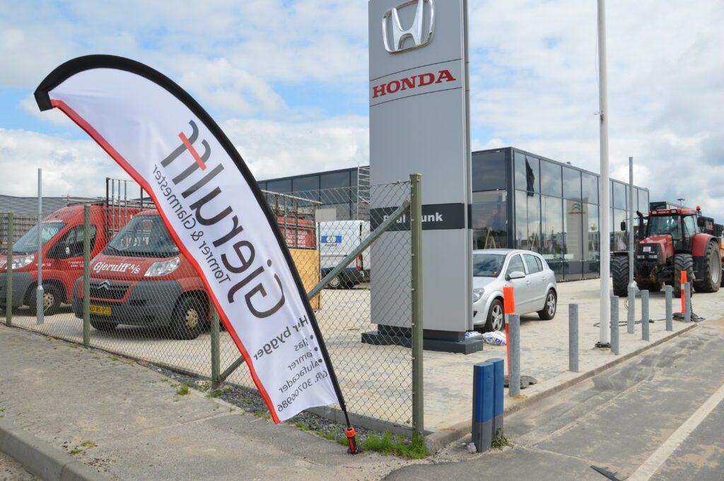 Bilforhandler Poul Munk projekt