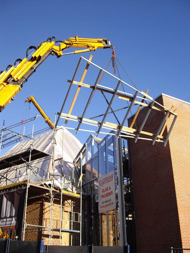 Kræftens Bekæmpelse bygningsprojekt