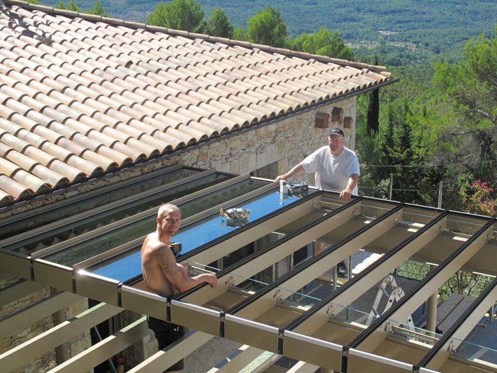 Frankrig byggeprojekt Tourtour